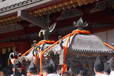 伝統ある神輿!