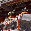 写真: 伝統ある神輿!