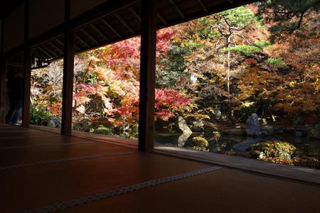 額縁の紅葉風景2、京都2012!
