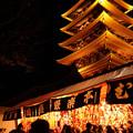 Photos: 羽子板市と五重の塔2!2012