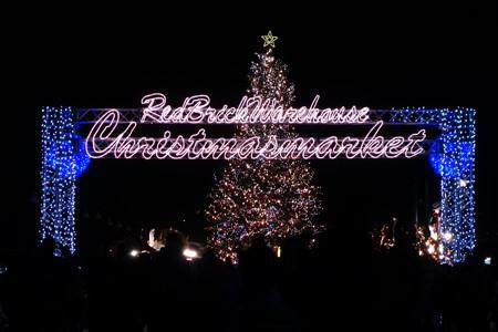 クリスマスツリー、横浜赤レンガ!2012