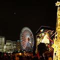 写真: クリスマスライトアップ、ワールドポーターズ!2012