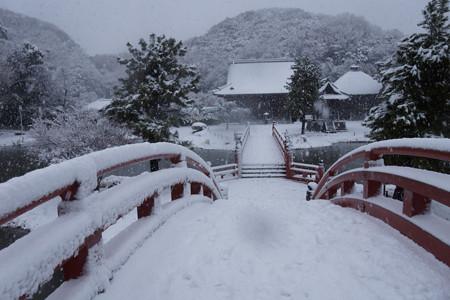 称名寺庭園の雪景色2!2013