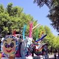 写真: パレードが始まり!