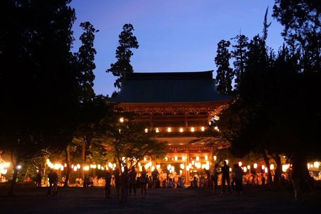 円覚寺の盆踊り前!130817
