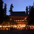 写真: 円覚寺の盆踊り前!130817