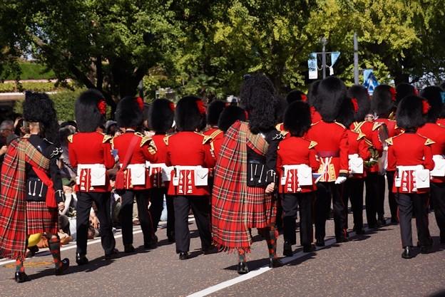 英国近衛軍楽隊パレード3!131013