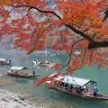 Photos: 紅葉と保津川下り2!131202