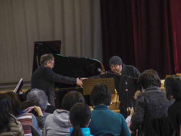 """2014/03/09""""どんぐりと山猫""""公演@目黒区烏森小学校4"""