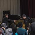 """写真: 2014/03/09""""どんぐりと山猫""""公演@目黒区烏森小学校4"""