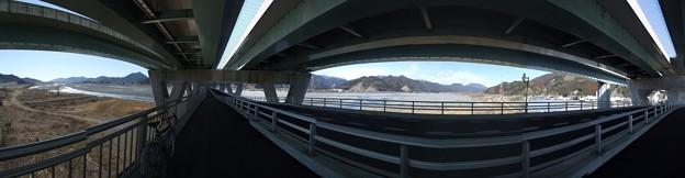安倍川の橋