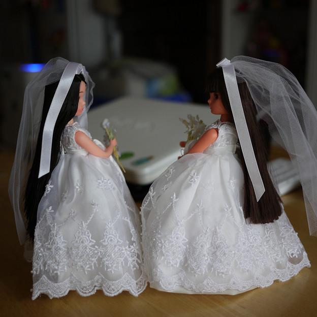 花嫁さんごっこ