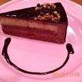 写真: チョコレートケーキ