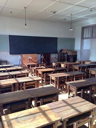 昔の教室♪