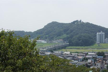 足利織姫神社から渡良瀬橋を望む - 02