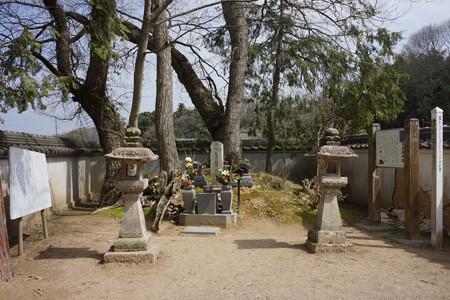 竹中半兵衛の墓 - 1