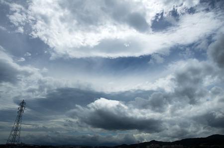 雲の向こうに木星食2