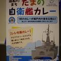 自衛隊公認?カレー そのうち 国防軍艦カレー改名