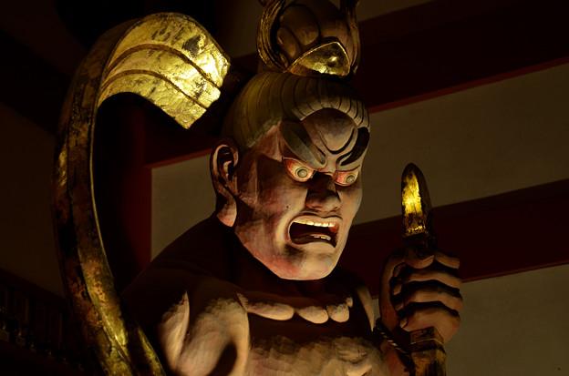 写真: 高野山赤松院 金剛力士像阿形