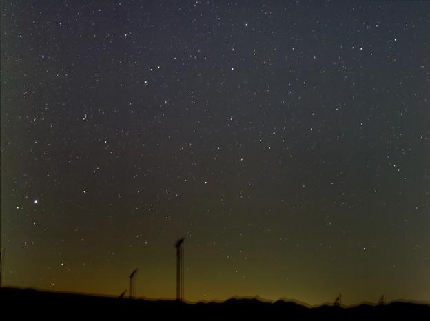こと座とラブジョイ彗星