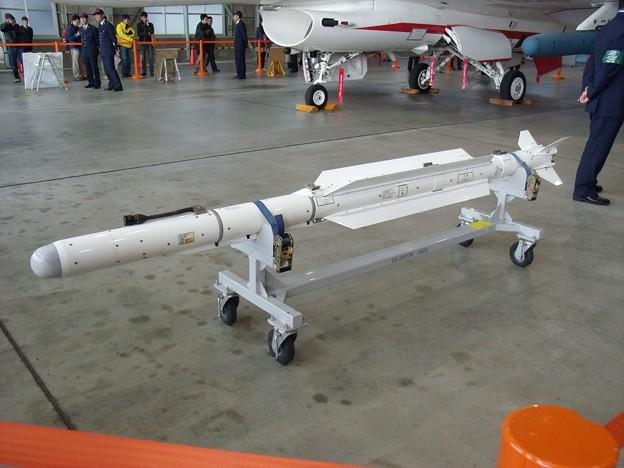 装備品展示・04式空対空誘導弾(A...