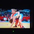 写真: 女子レスリング