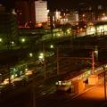 Photos: 深夜の長野駅直江津方