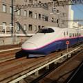E2系やまびこ124号宇都宮駅通過! やまびこなのに....(・。・;