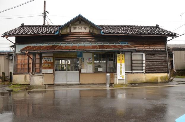 富山地鉄寺田駅舎
