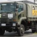 航空自衛隊 饗庭野分屯基地 業務トラック