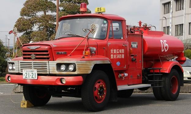 福岡県京築広域圏消防本部 泡原液搬送車