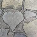 写真: 石畳の・・・