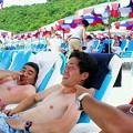 Photos: ビーチにパラソル多すぎる(笑)で、僕はどこの国の人なんだ?(^-^;