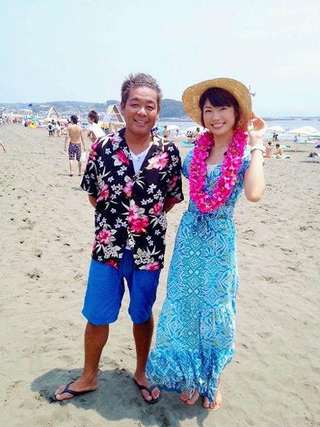 Photos: 江ノ島「片瀬東浜海水浴場」から爽やか元気いっぱい桐島瑞希サンと生...