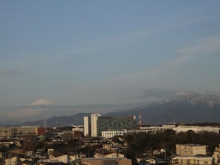 富士、大山20130208