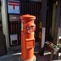 【ポスト】丸型郵便ポスト|松阪[三重県]