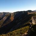 Photos: 抜戸岳への稜線