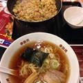 Photos: 鉄鍋チャーハンに中華そば