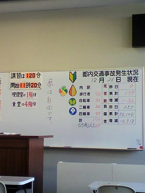 江東 試験場 免許 更新 写真