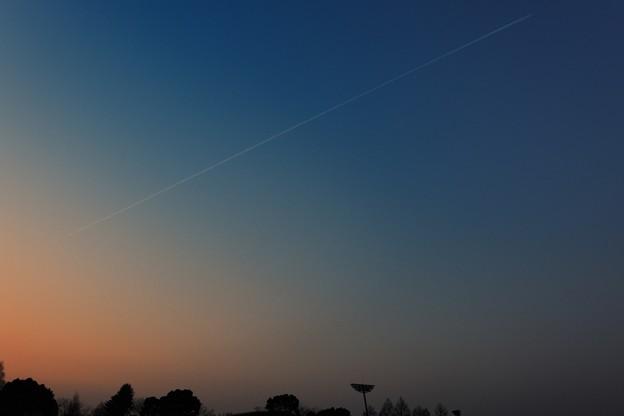 飛行機雲_14317