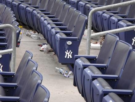 ヤンキースタジアム(観客席)
