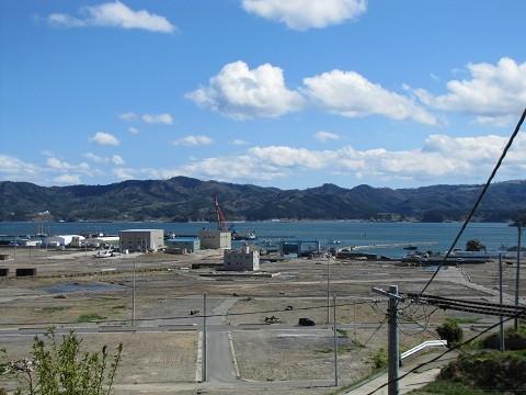 南三陸町志津川地区(2013.5.3)