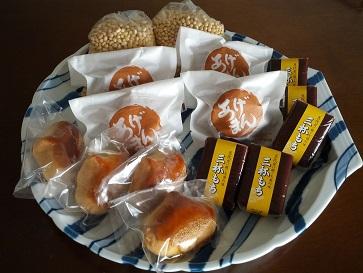 Photos: 「つじや」のお菓子