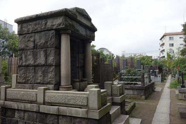 伊藤左千夫の墓:普門院@亀戸DSC02102
