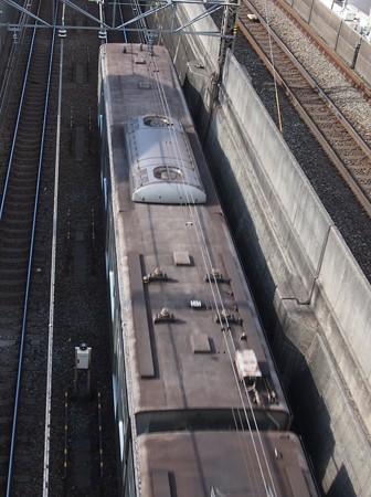 東京メトロ6000系屋根上(6104編)