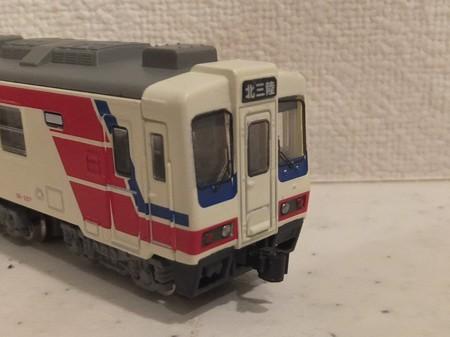 Bトレ北三陸鉄道36-207カプラー交換
