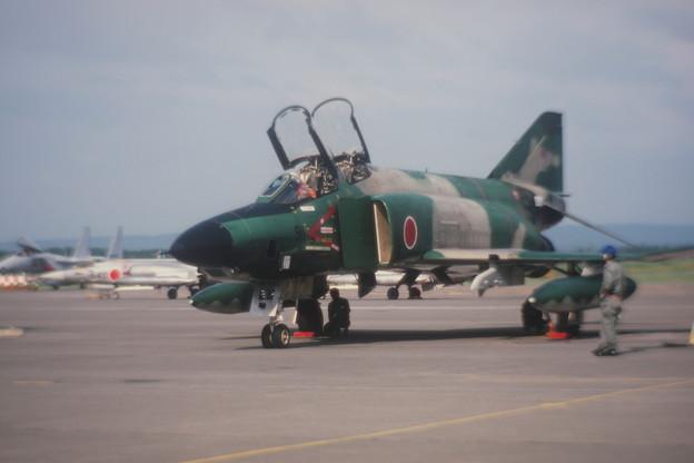 Photos: RF-4E 57-6911 CTS基地祭