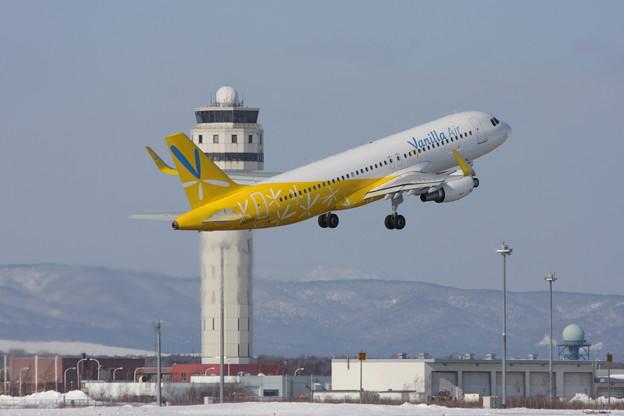A320 バニラ就航開始