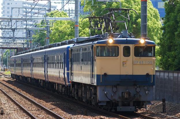 Photos: EF65-1135(北びわこ送り込み)