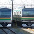 Photos: E233系3000番台高崎車L07編成&E231系1000番台ヤマU506編成